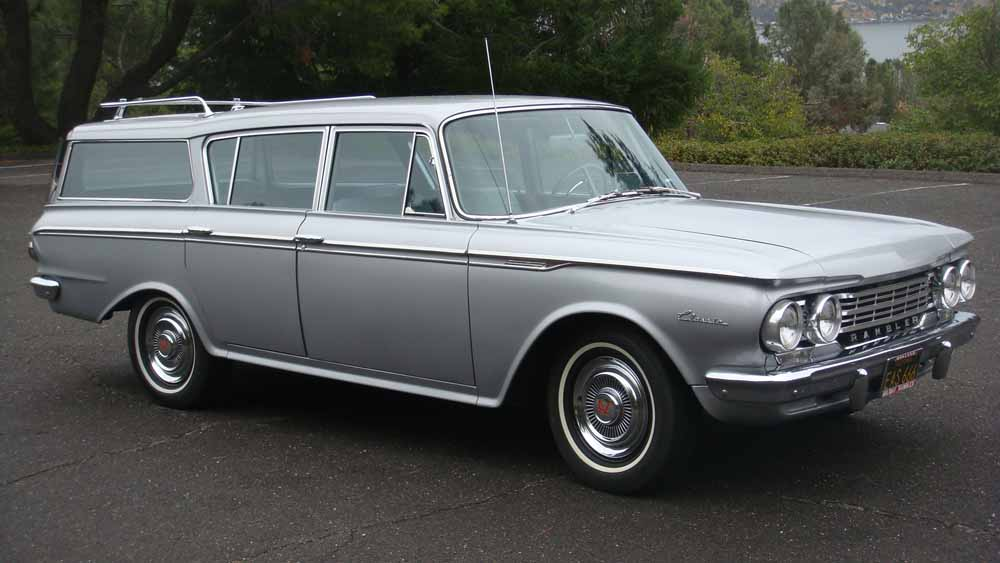 1962 RAMBLER CROSS COUNTRY WAGON - Front 3/4 - 96420