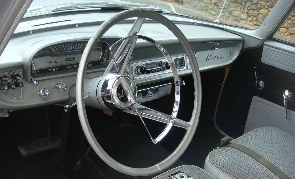 1962 RAMBLER CROSS COUNTRY WAGON - Interior - 96420