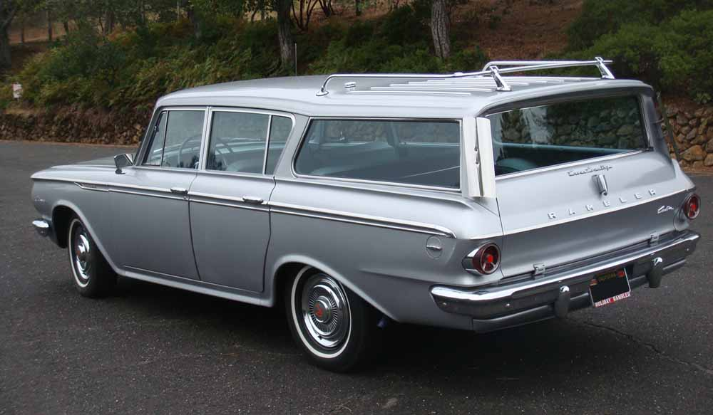 1962 RAMBLER CROSS COUNTRY WAGON - Rear 3/4 - 96420