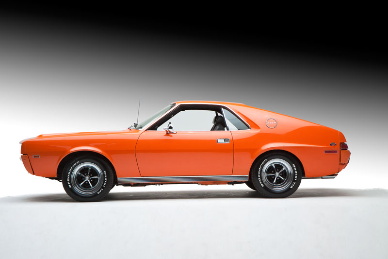 1969 AMERICAN MOTORS AMX COUPE - Side Profile - 96421