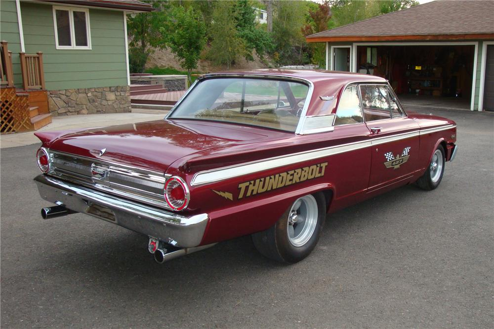 1963 FORD FAIRLANE 500 THUNDERBOLT RE-CREATION - Rear 3/4 - 96431