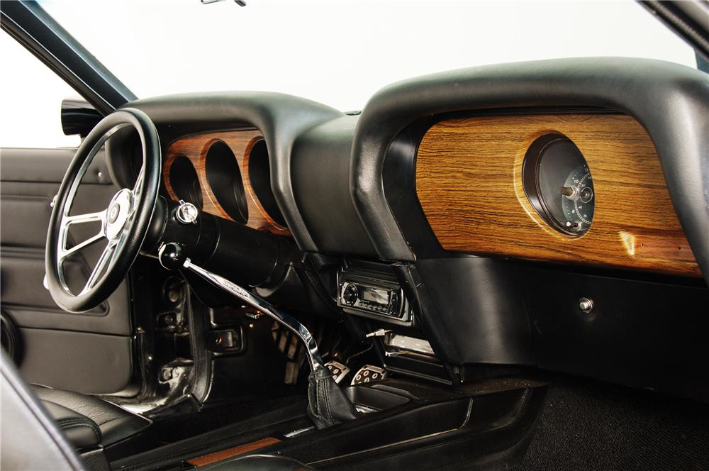 1970 FORD MUSTANG CUSTOM FASTBACK - Interior - 96434