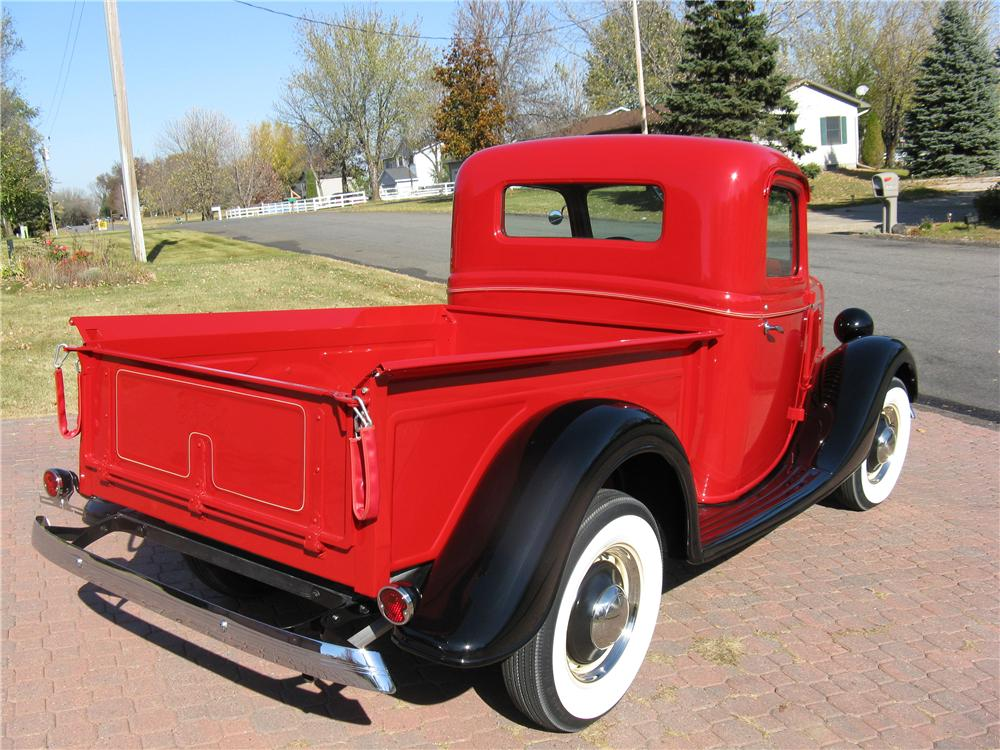 1936 FORD 68 PICKUP - Rear 3/4 - 96435