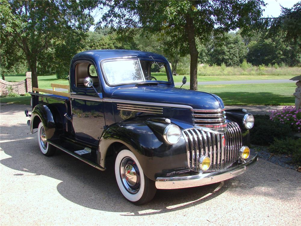 1946 CHEVROLET 3100 PICKUP - Front 3/4 - 96436