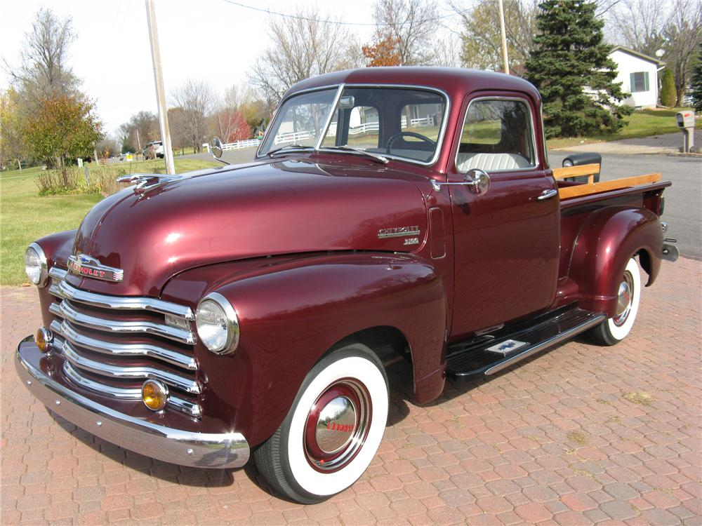 1949 CHEVROLET 3100 PICKUP - Front 3/4 - 96437