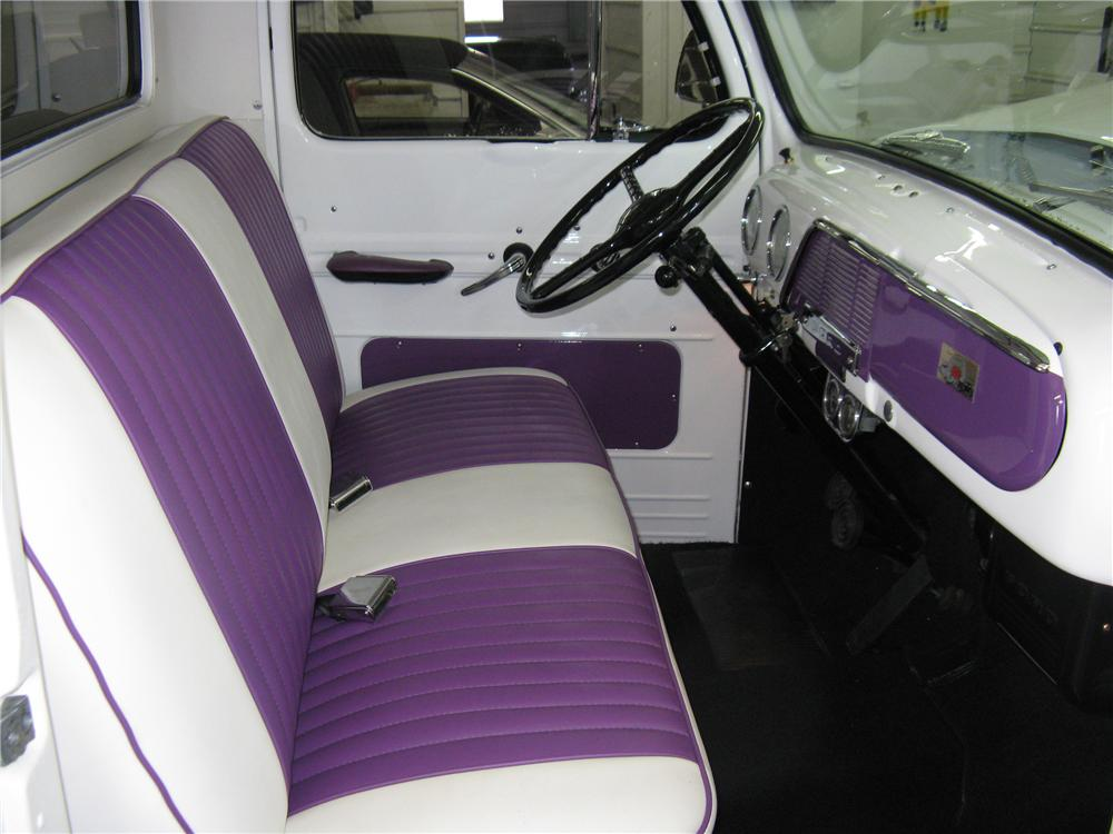 1952 FORD F-1 CUSTOM PICKUP - Interior - 96439