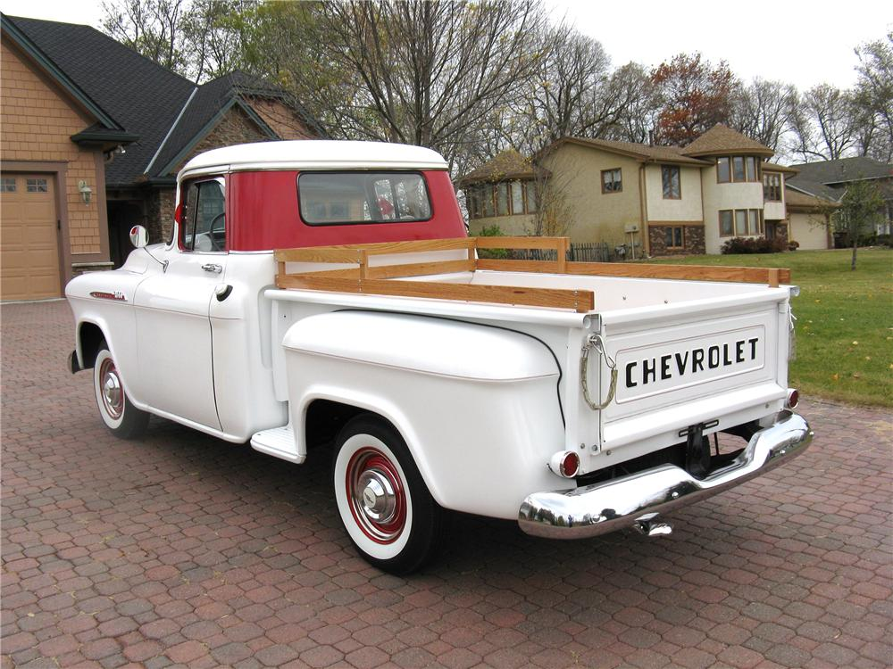 1956 CHEVROLET 3100 PICKUP - Rear 3/4 - 96440