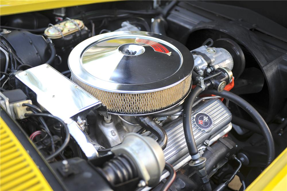 1971 CHEVROLET CORVETTE 2 DOOR COUPE - Engine - 96442