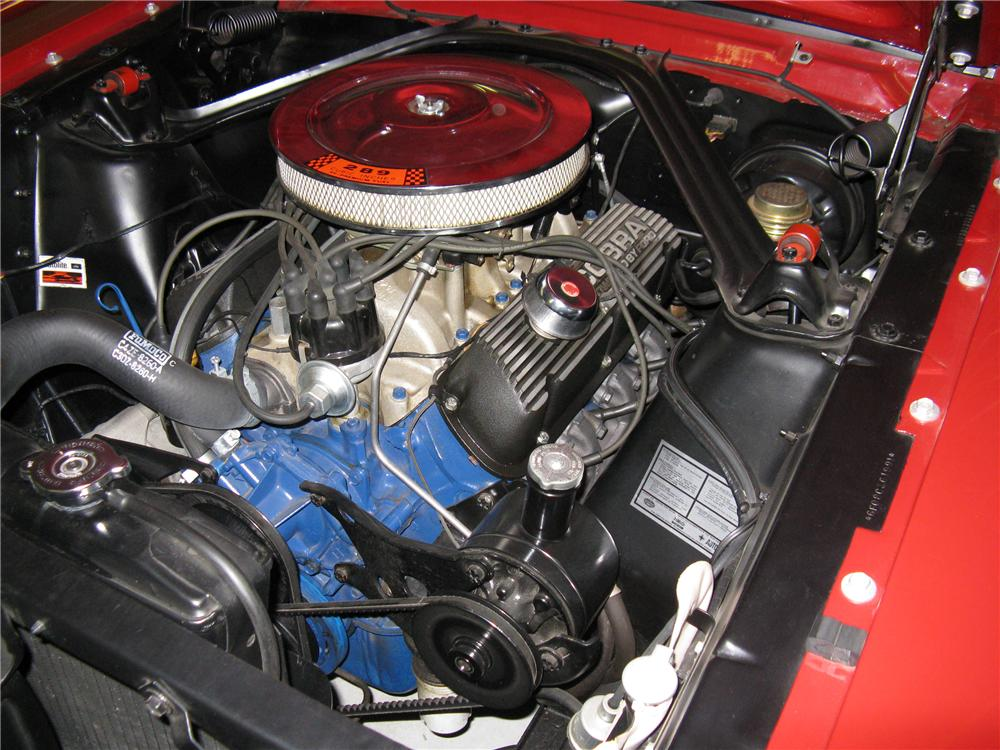 1966 FORD MUSTANG CONVERTIBLE - Engine - 96445
