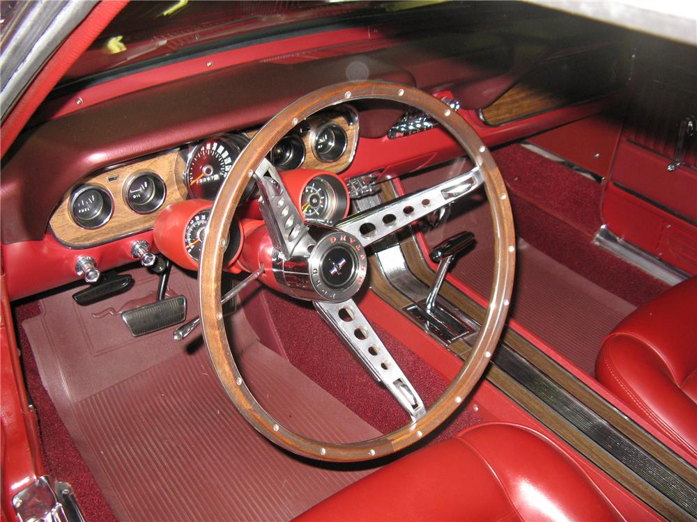 1966 FORD MUSTANG CONVERTIBLE - Interior - 96445