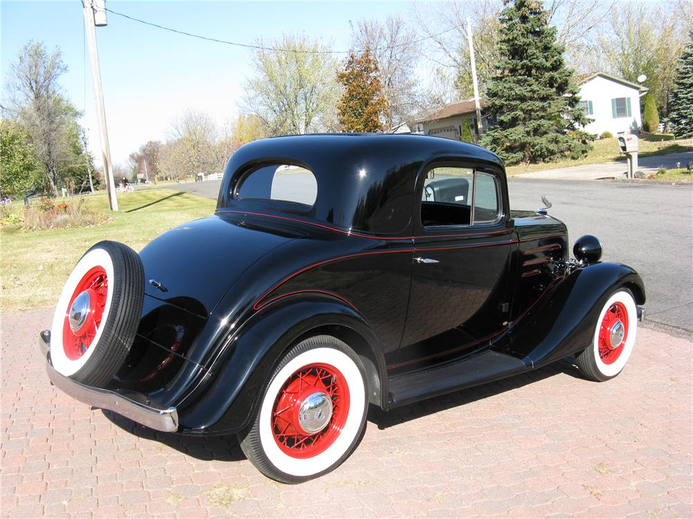 1935 chevrolet 3 window coupe 96446