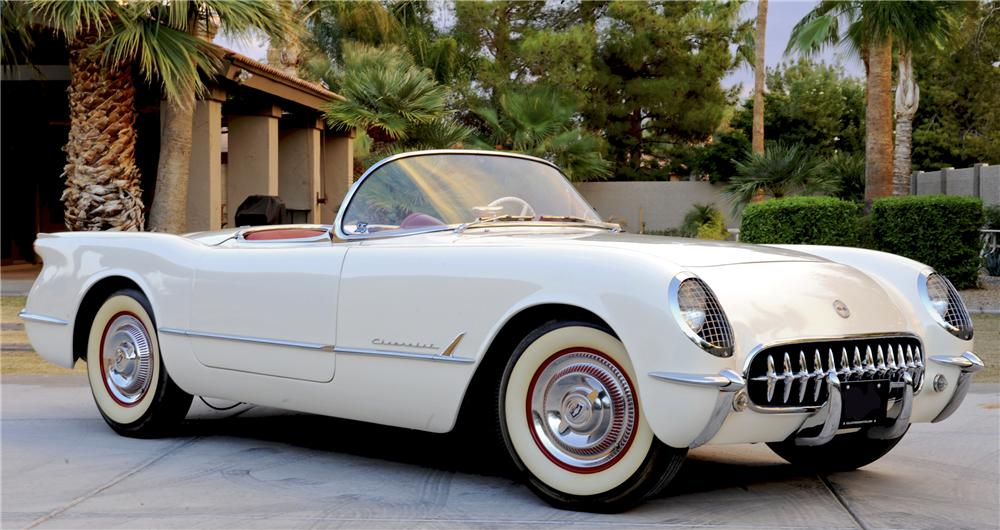 1953 CHEVROLET CORVETTE CONVERTIBLE - Front 3/4 - 96449
