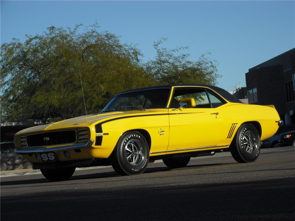 1969 CHEVROLET CAMARO RS/SS 2 DOOR COUPE - Front 3/4 - 96456