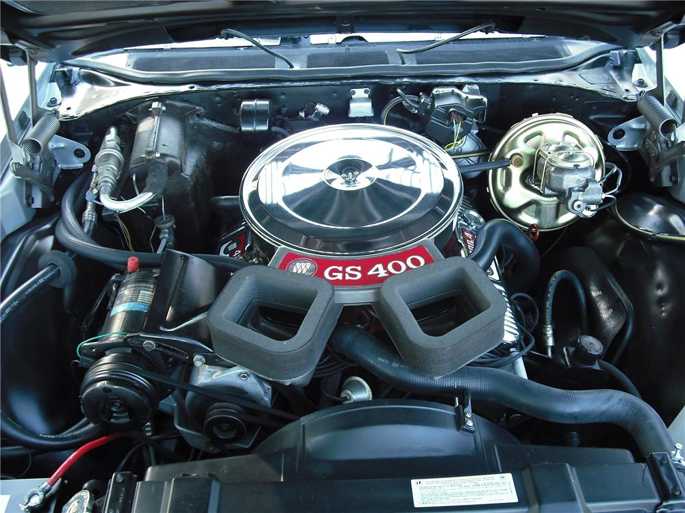 1969 BUICK GRAN SPORT CONVERTIBLE - Engine - 96457