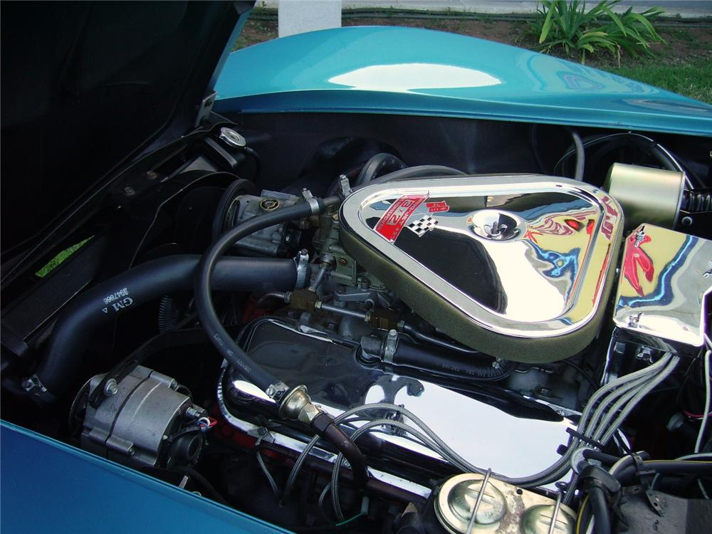 1968 CHEVROLET CORVETTE CONVERTIBLE - Engine - 96467