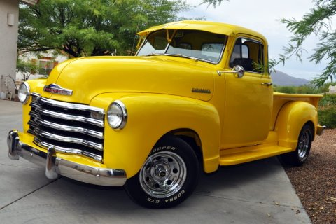 1952 CHEVROLET 3100 CUSTOM PICKUP - Front 3/4 - 96471