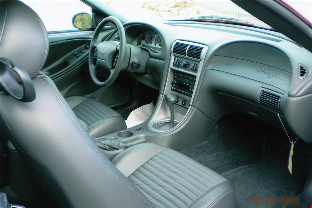 2003 FORD MUSTANG MACH 1 COUPE - Interior - 96477