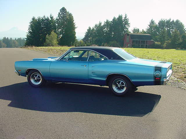1969 DODGE SUPER BEE CUSTOM 2 DOOR HARDTOP - Side Profile - 96480