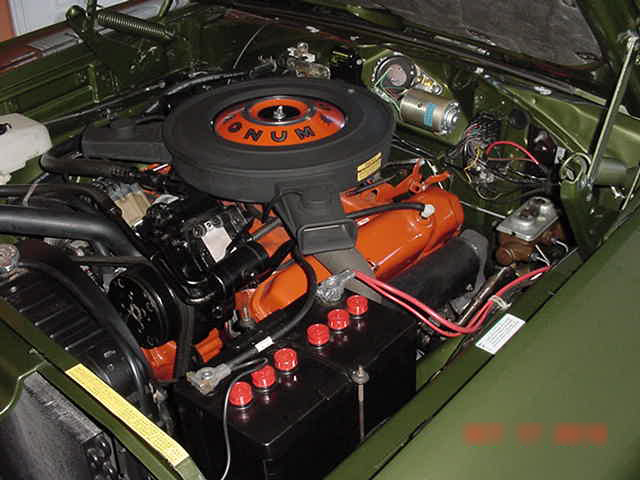 1970 DODGE CORONET R/T 2 DOOR HARDTOP - Engine - 96483