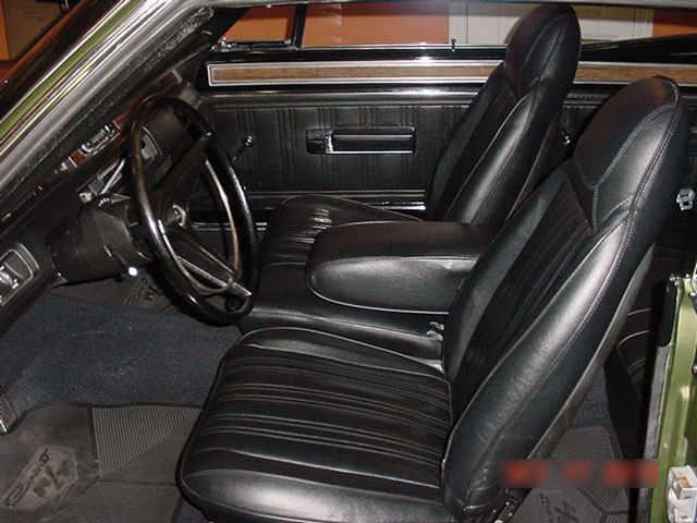 1970 DODGE CORONET R/T 2 DOOR HARDTOP - Interior - 96483