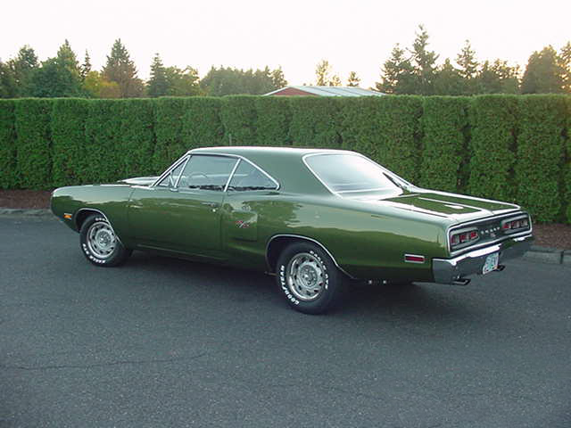 1970 DODGE CORONET R/T 2 DOOR HARDTOP - Rear 3/4 - 96483