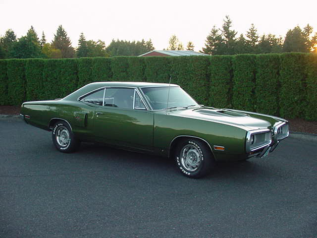 1970 DODGE CORONET R/T 2 DOOR HARDTOP - Side Profile - 96483