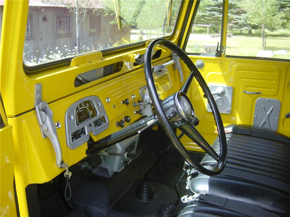 1967 TOYOTA LAND CRUISER CUSTOM TRUCK - Interior - 96494