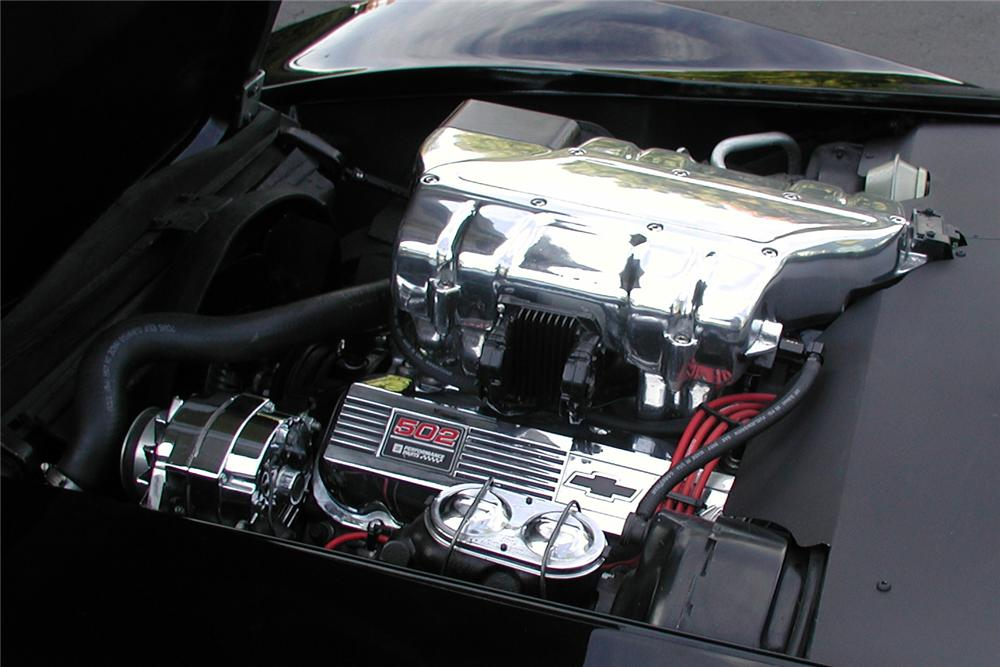 1971 CHEVROLET CORVETTE CUSTOM COUPE - Engine - 96497