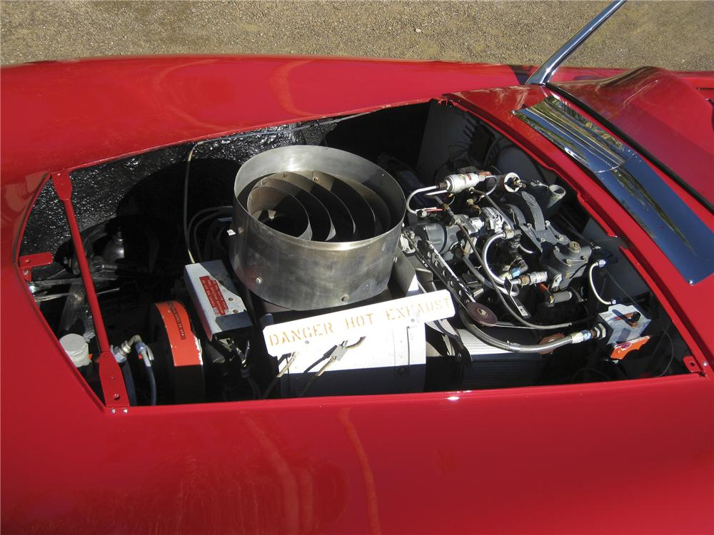 1955 WOODILL WILDFIRE TURBINE CONVERTIBLE - Engine - 96499