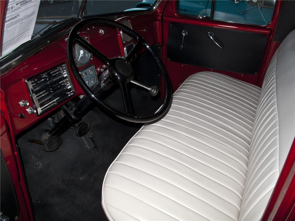 1951 DODGE B-3B CUSTOM PICKUP - Interior - 96501