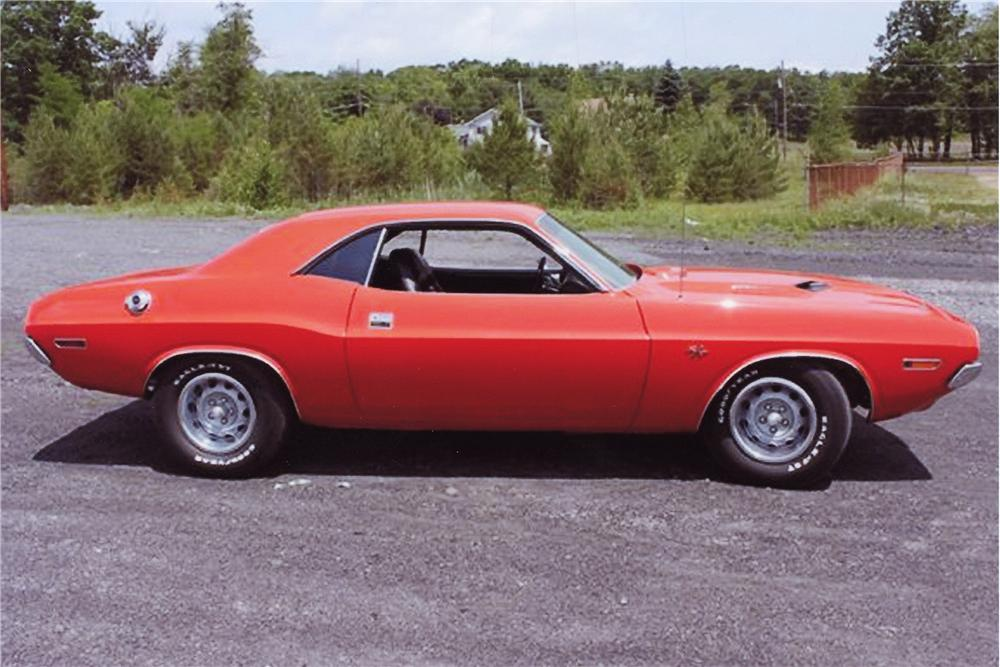 1970 DODGE CHALLENGER 2 DOOR HARDTOP - Side Profile - 96502