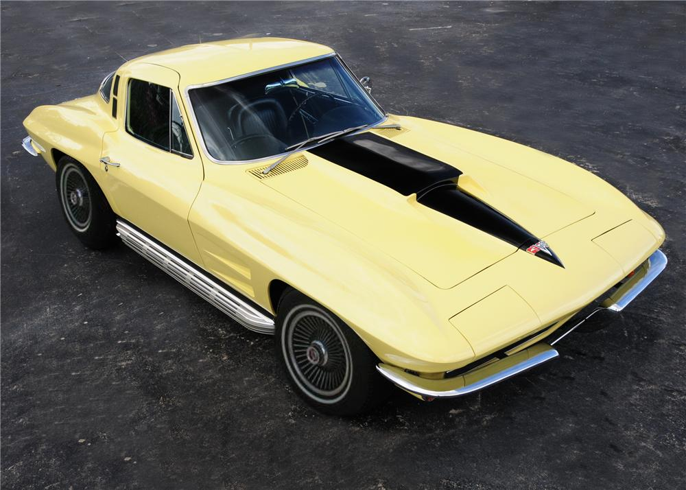 1964 CHEVROLET CORVETTE COUPE - Front 3/4 - 96505
