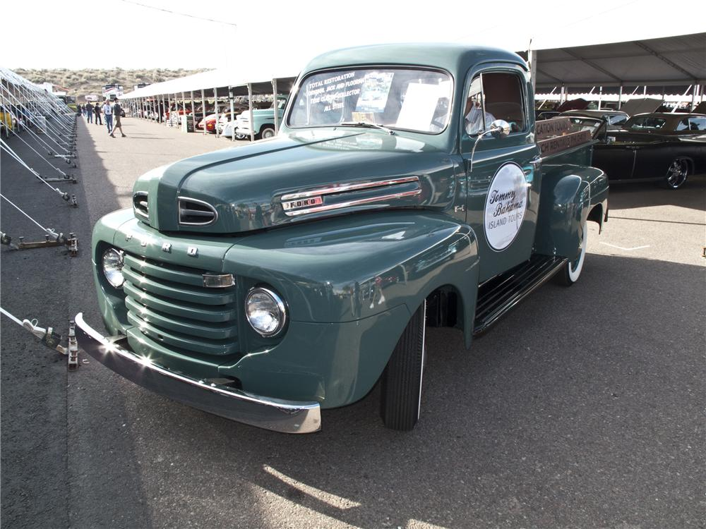 1950 FORD F-1 PICKUP - Front 3/4 - 96506