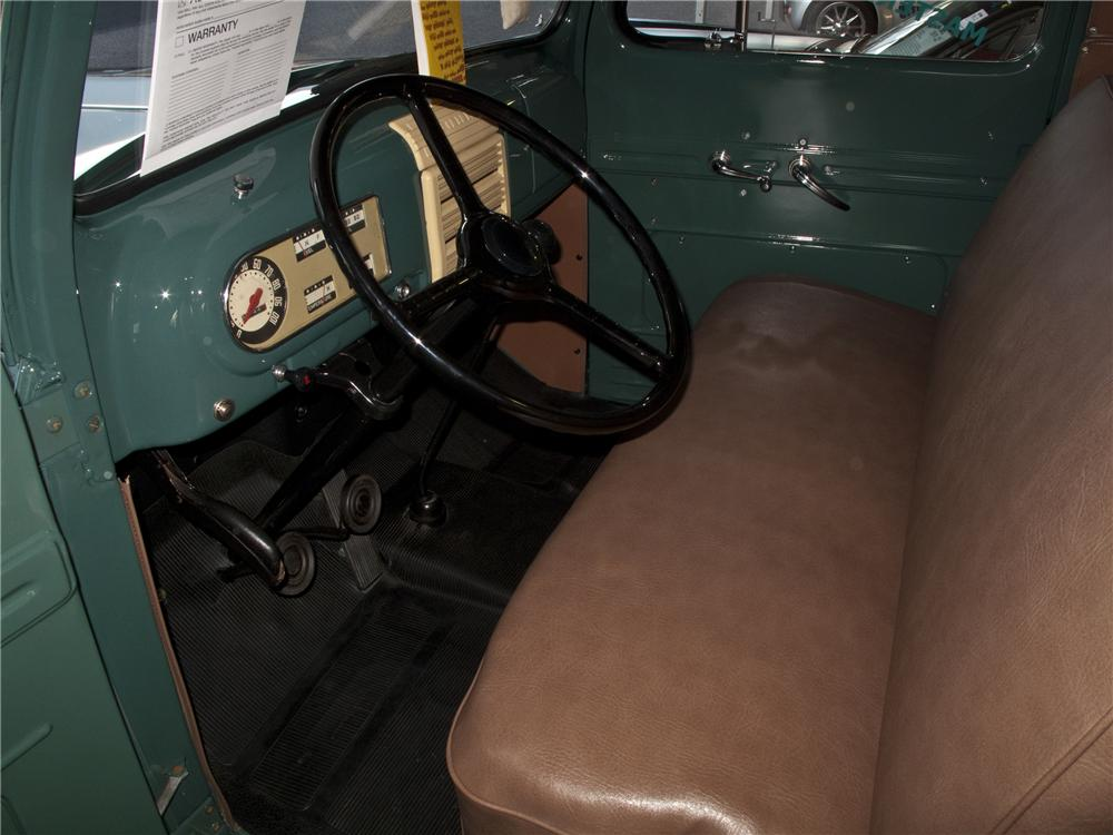 1950 FORD F-1 PICKUP - Interior - 96506