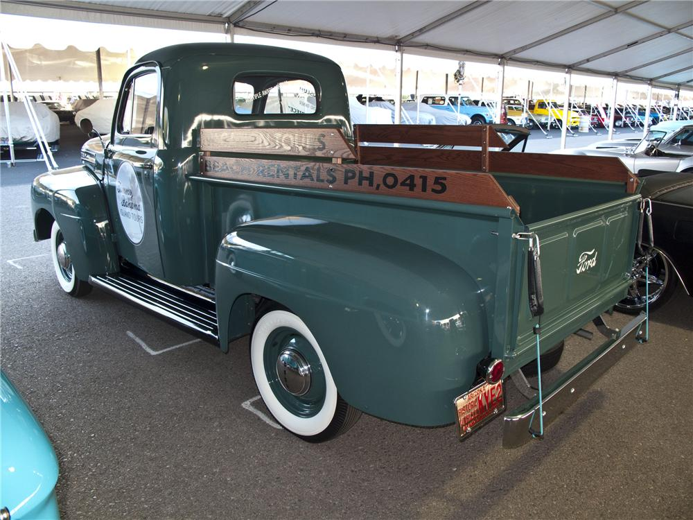 1950 FORD F-1 PICKUP - Rear 3/4 - 96506