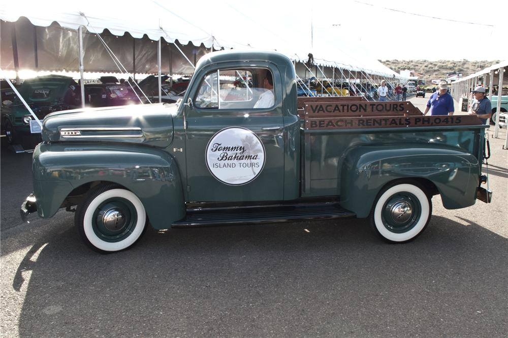 1950 FORD F-1 PICKUP - Side Profile - 96506