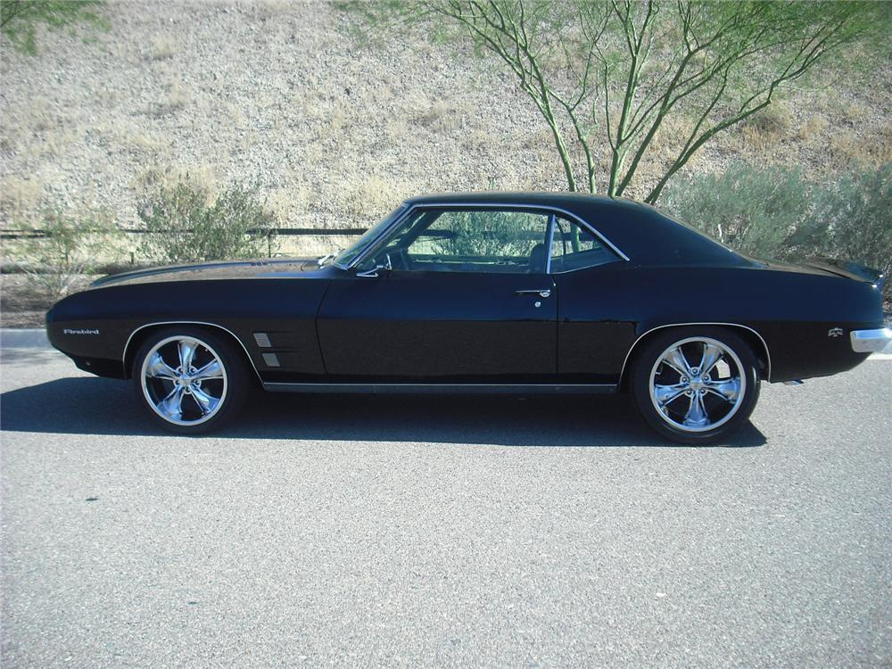 1969 PONTIAC FIREBIRD CUSTOM COUPE - Side Profile - 96509