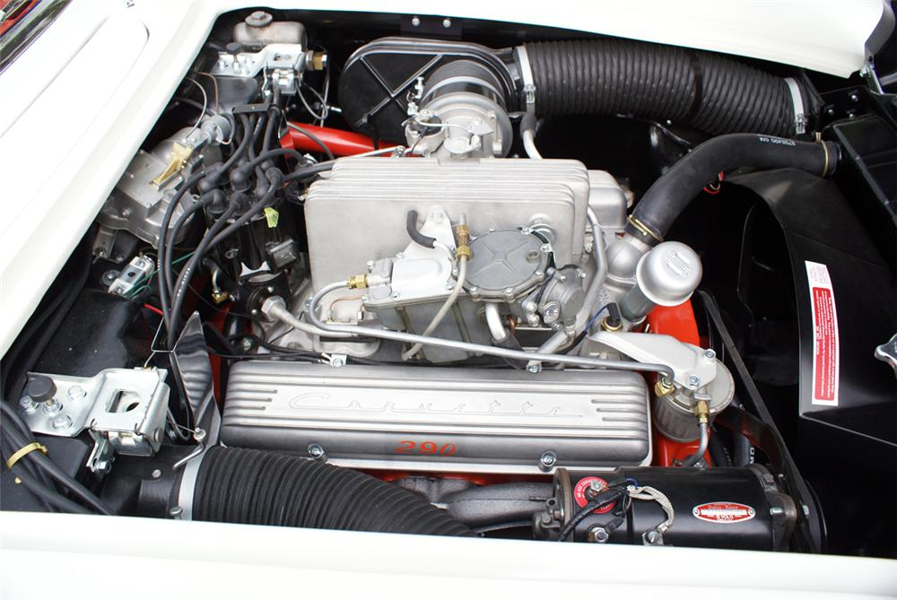 1958 CHEVROLET CORVETTE ROADSTER - Engine - 96513