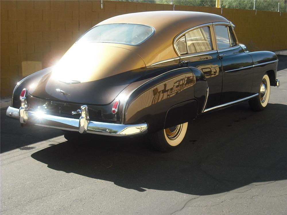 1949 chevrolet fleetline deluxe 4 door sedan 96516