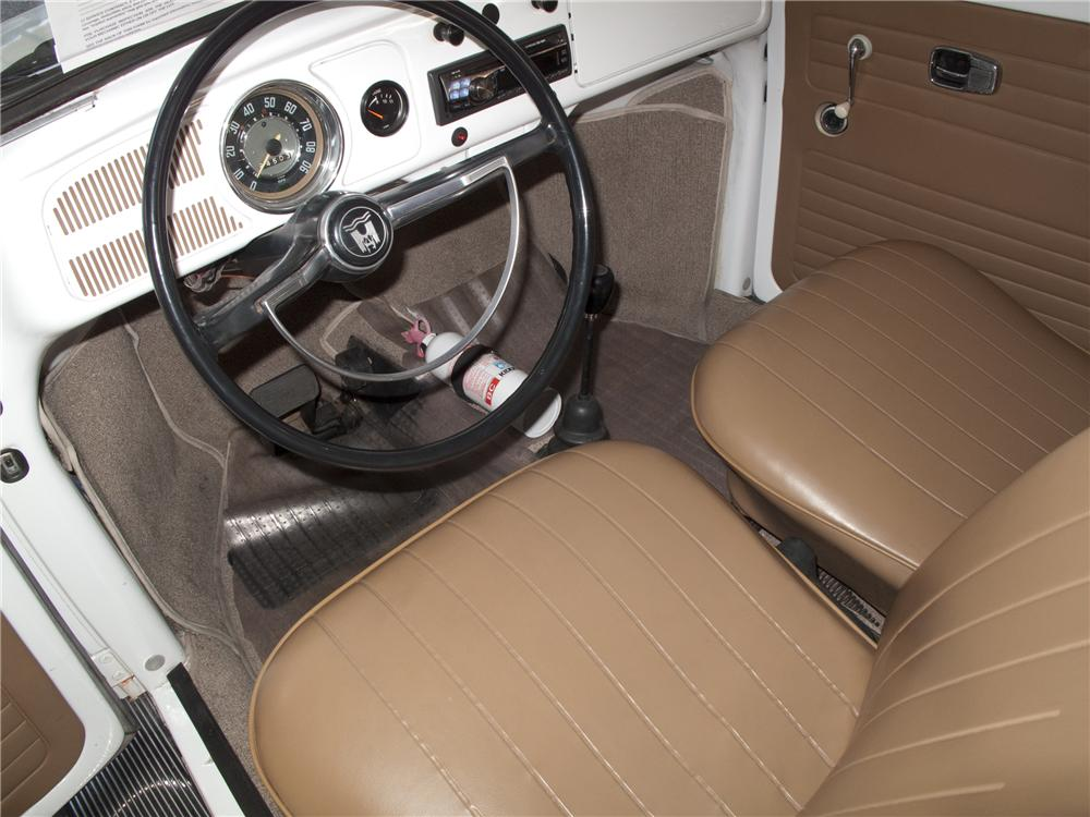 1969 VOLKSWAGEN BEETLE 2 DOOR - Interior - 96520