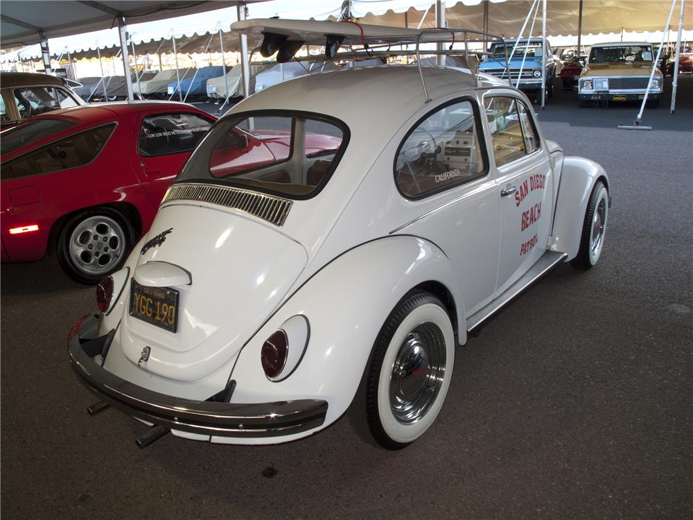 1969 VOLKSWAGEN BEETLE 2 DOOR - Rear 3/4 - 96520