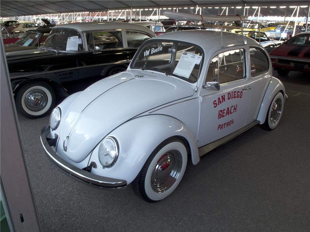 1969 VOLKSWAGEN BEETLE 2 DOOR - Side Profile - 96520