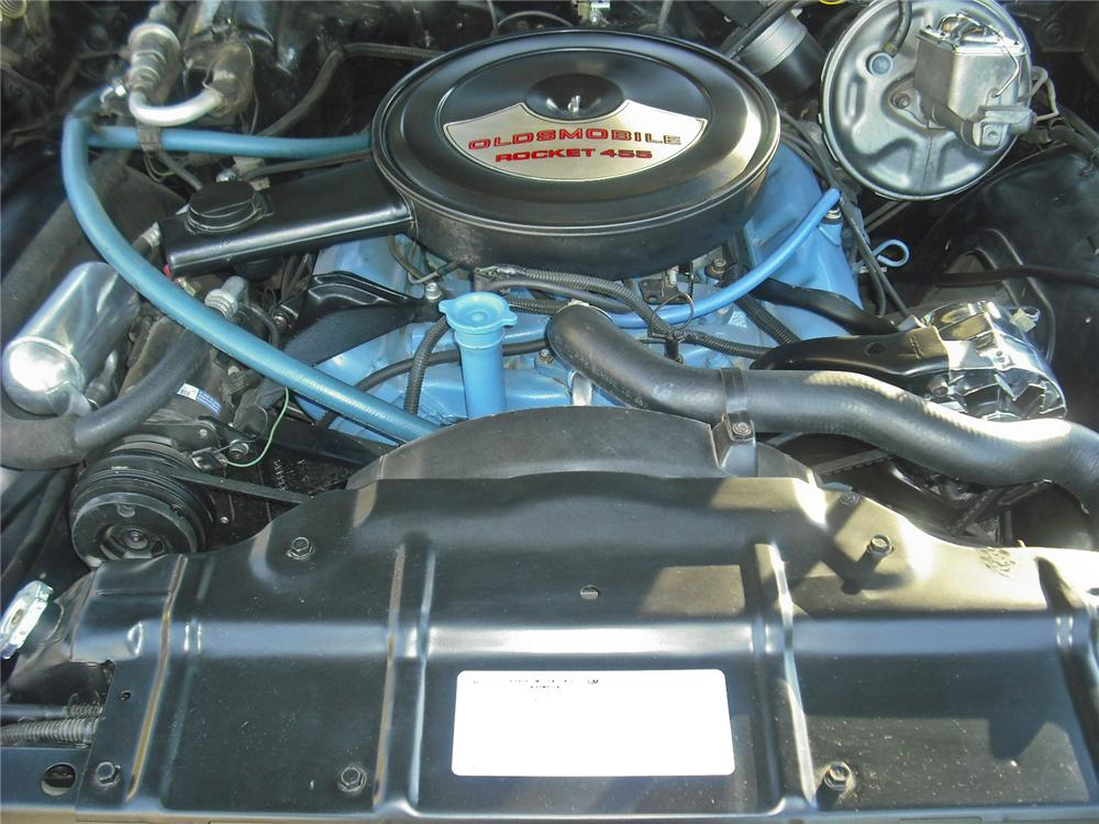 1972 OLDSMOBILE CUTLASS SUPREME CUSTOM CONVERTIBLE - Engine - 96521
