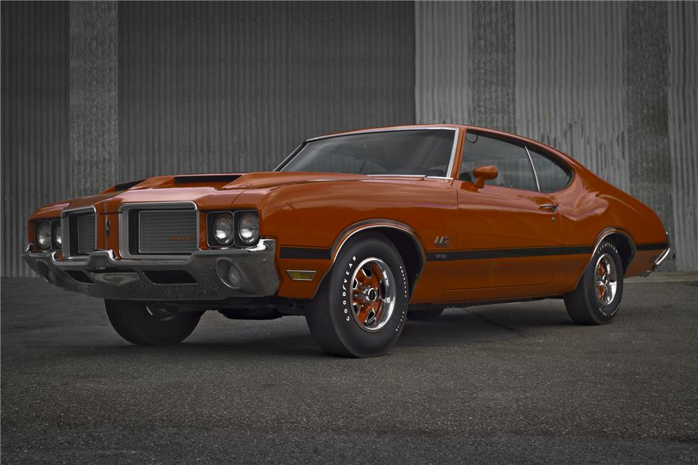 1972 OLDSMOBILE 442 W30 COUPE - Front 3/4 - 96524