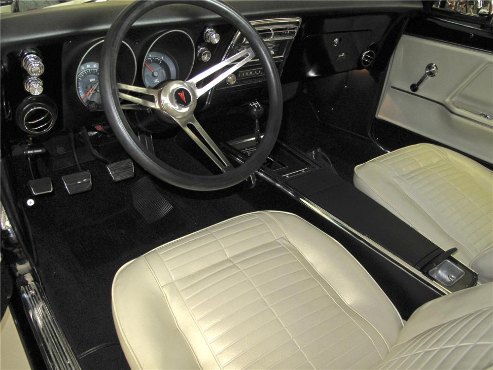 Interior: 1967 PONTIAC FIREBIRD COUPE