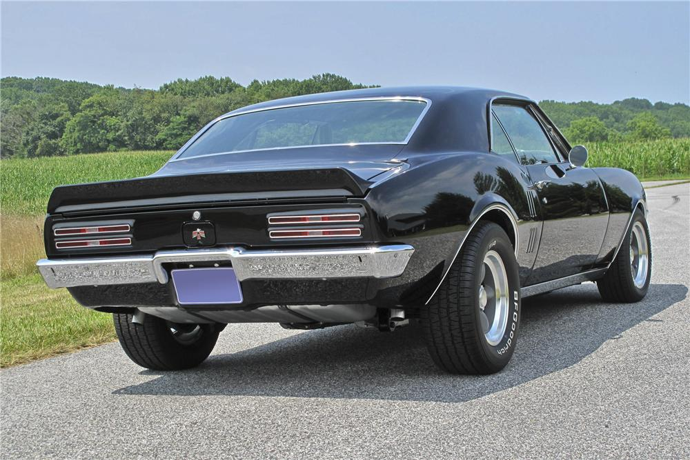 1967 PONTIAC FIREBIRD COUPE - Rear 3/4 - 96529