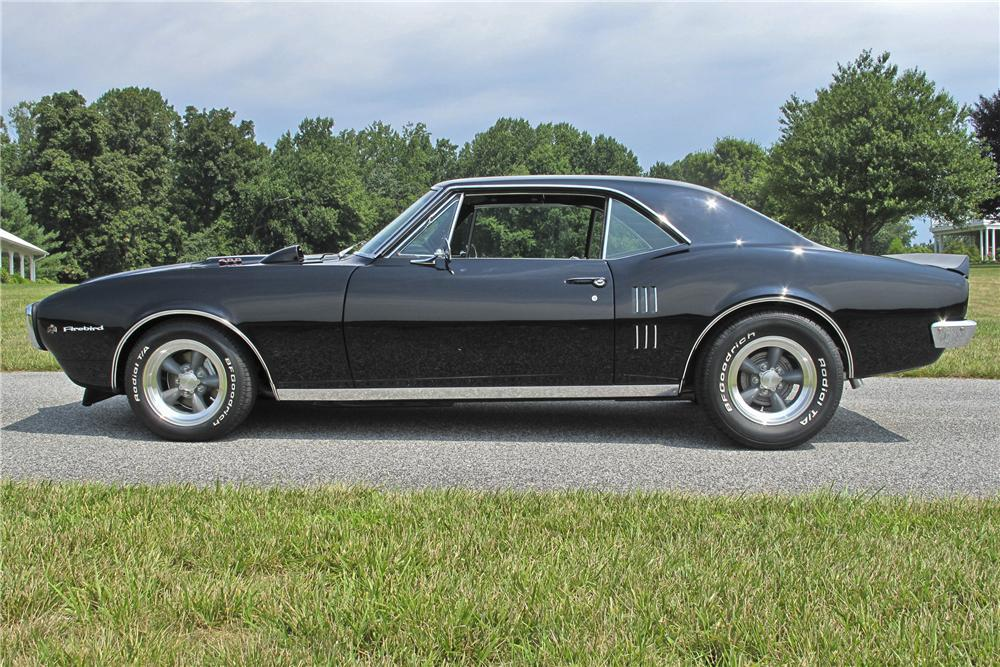 1967 PONTIAC FIREBIRD COUPE - Side Profile - 96529