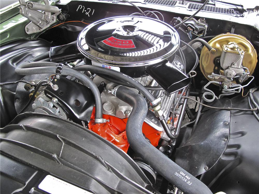 1970 CHEVROLET CAMARO Z/28 COUPE - Engine - 96531