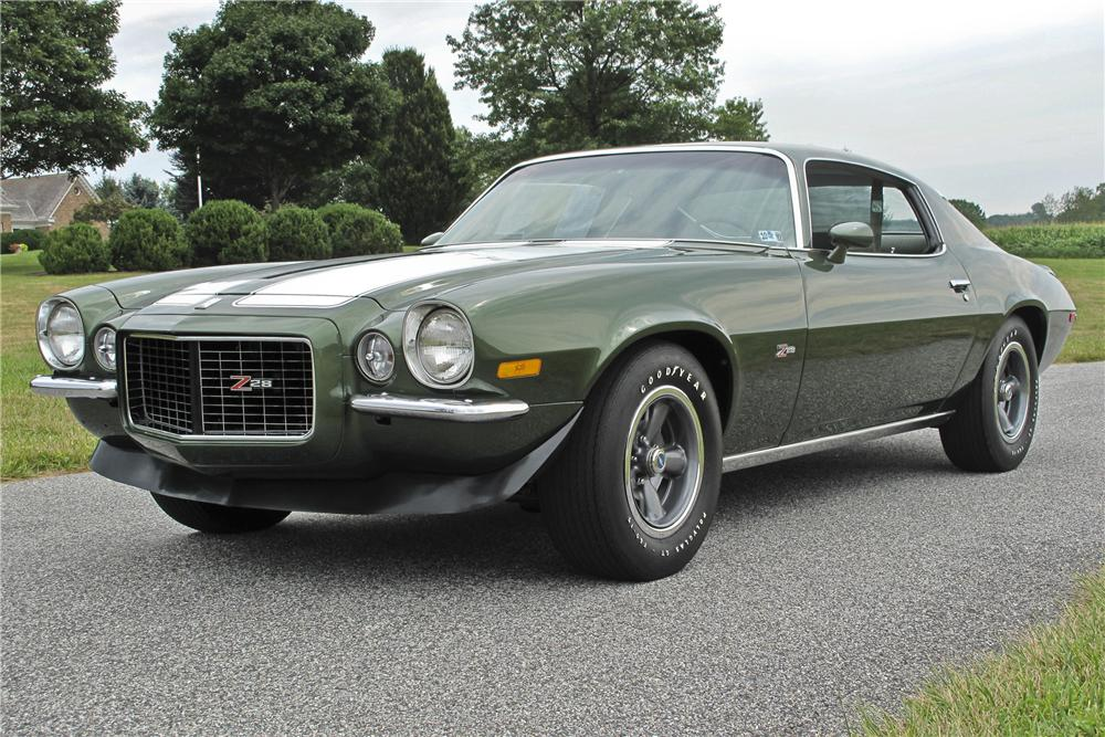 1970 CHEVROLET CAMARO Z/28 COUPE - Front 3/4 - 96531