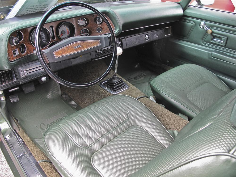 1970 CHEVROLET CAMARO Z/28 COUPE - Interior - 96531